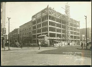 August 20 1923 Spencer Hotel Remodeling By Bowman Construction Co